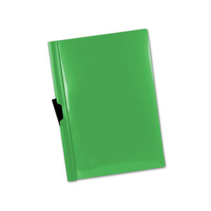CARPETA DOSSIER PINZA LATERAL A4 VERDE 30 HOJAS LIDERPAPEL